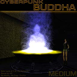 Cyberpunk Buddha (Medium)