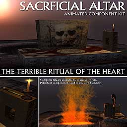 Sacrificial Altar - Animated Component Kit