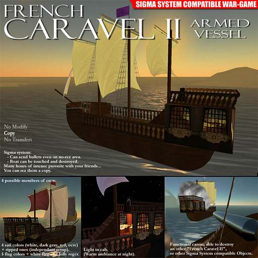 French Caravel II - Armed Vessel