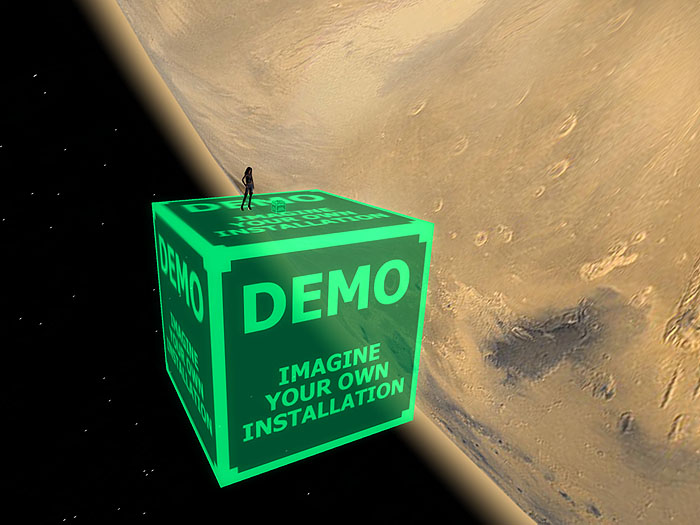 Orbital kit B: space environment generator - Earth, Mars, Ganymede & Thethys. photo 2