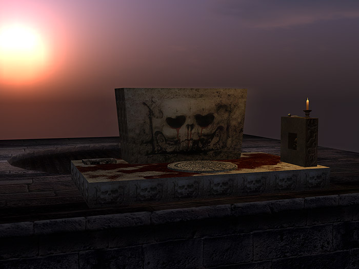 Sacrificial Altar - Animated Component Kit photo 1