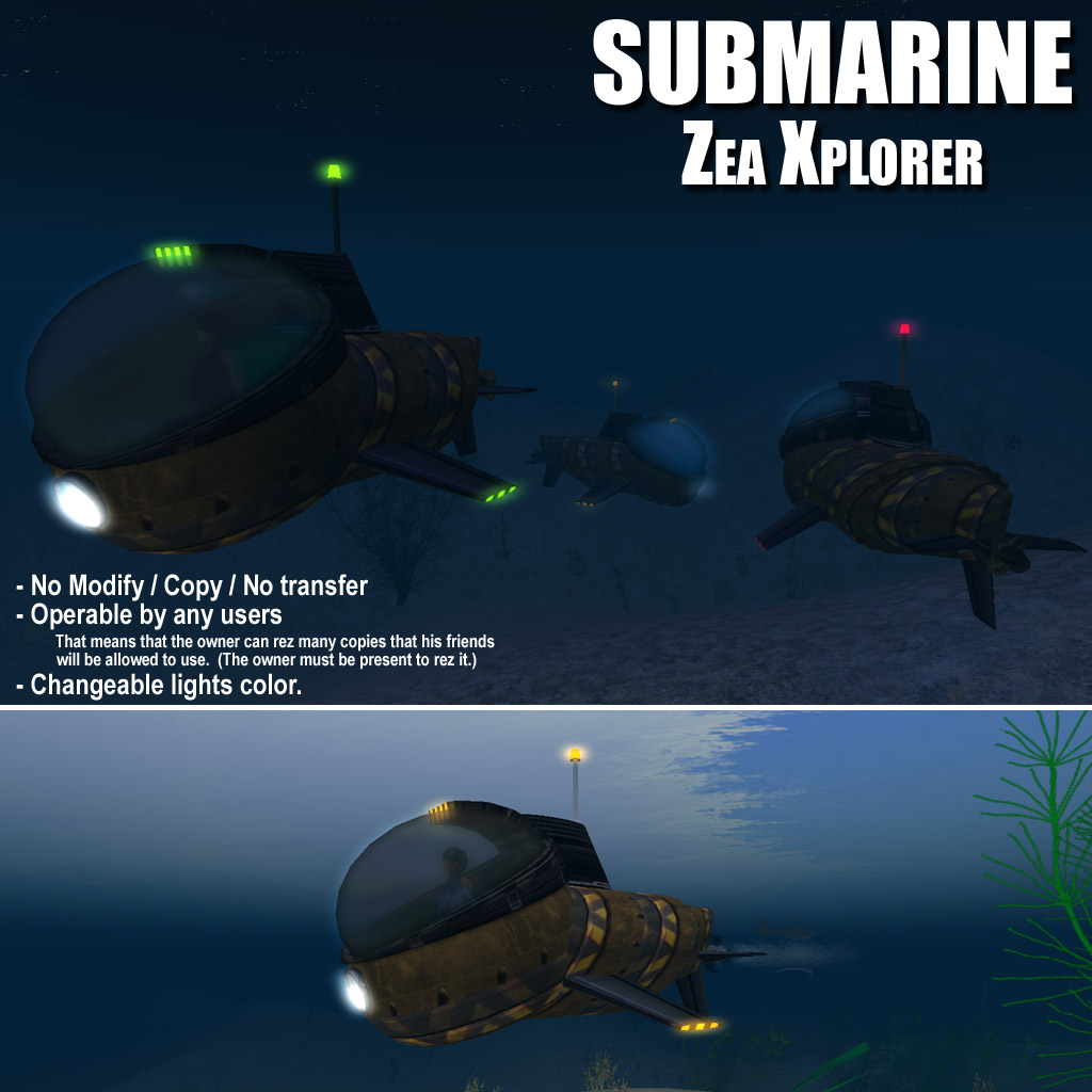 Submarine: Zea Xplorer photo 1